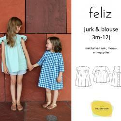 Feliz jurk & blouse (Nederlands)
